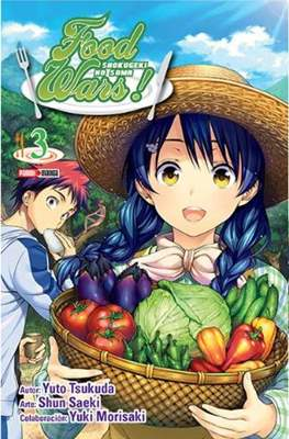 Food Wars! Shokugeki No Soma (Rústica) #3