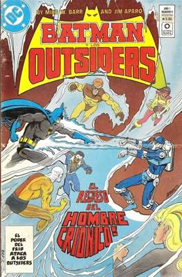 Batman y los Outsiders (Grapa) #5