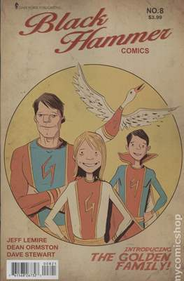 Black Hammer (Variant Covers) (Comic Book) #8