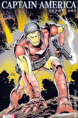 Captain America Vol. 5 (2005-2011 Variant Cover) (Comic Book) #605