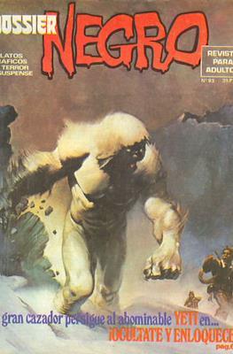 Dossier Negro (Rústica y grapa [1968 - 1988]) #93