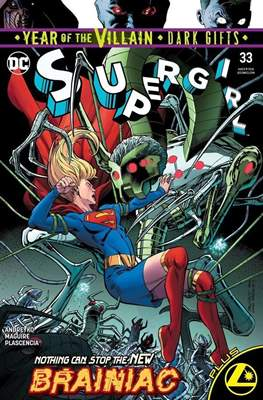 Supergirl Vol. 7 (2016-... Variant Covers) (Comic-book) #33.1