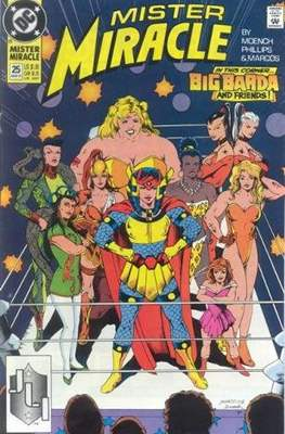 Mister Miracle (Vol. 2 1989-1991) (Comic Book) #25