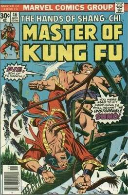 Master of Kung Fu (Comic Book. 1974 - 1983. Continued from Special Marvel Edition #16) #46
