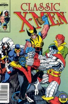 Classic X-Men Vol. 1 (1988-1992) (Grapa 32 pp) #15