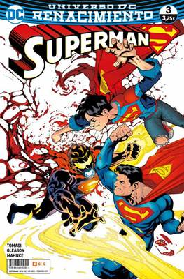 Superman. Nuevo Universo DC / Renacimiento (Grapa) #58/3
