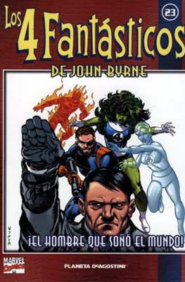Coleccionable Los 4 Fantásticos de John Byrne (2002) (Rústica 80 pp) #23