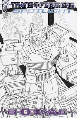 Transformers: Spotlight - Shockwave (Variant Cover) (Comic book 32 pp) #1.1