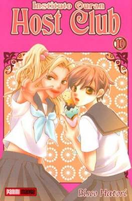 Instituto Ouran Host club #10