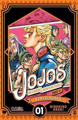 JoJo's Bizarre Adventure - Part V: Vento Aureo (Rústica con sobrecubierta) #1