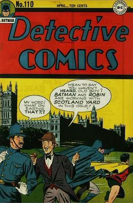 Detective Comics Vol. 1 (1937-2011; 2016-) (Comic Book) #110