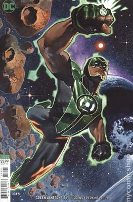 Green Lanterns (Vol. 1 2016-... Variant Covers) (Comic Book) #56