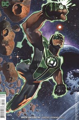 Green Lanterns (Vol. 1 2016-... Variant Covers) #56