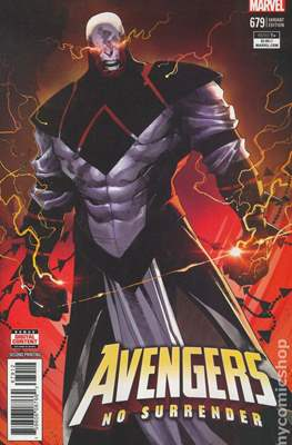 The Avengers Vol. 7 (2016-...Variant Covers ) (Grapa) #679.2