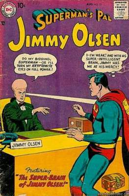 Superman's Pal, Jimmy Olsen / The Superman Family (Comic Book) #22