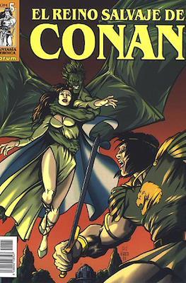 El Reino Salvaje de Conan (Grapa 48-80 pp) #5