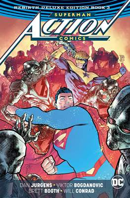 Superman Action Comics Rebirth Deluxe Edition (Hardcover 264-440-400 pp) #3