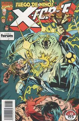 X-Force Vol. 1 (1992-1995) (Grapa 24-32 pp) #32
