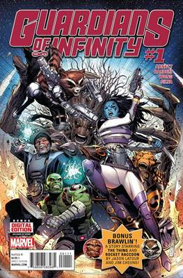 Guardians of Infinity (Comic-book) #1