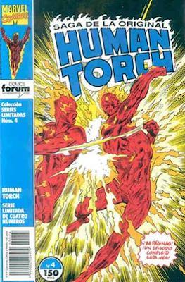 Saga de la original Human Torch #4