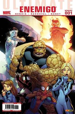 Ultimate Comics. Enemigo (Grapa 48 páginas.) #1