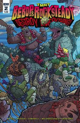 TMNT: Bebop & Rocksteady Destroy Everything (Comic book / Digital) #2