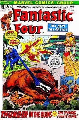 Fantastic Four Vol. 1 (1961-1996) (saddle-stitched) #118