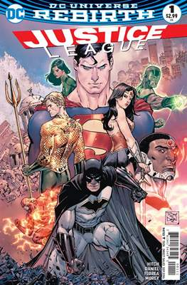 Justice League Vol. 3 (2016-2018) (Comic-book) #1