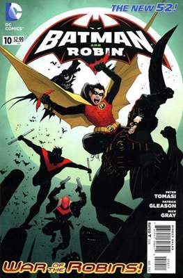 Batman and Robin Vol. 2 (2011-2015) #10