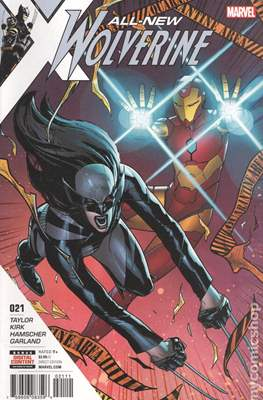 All-New Wolverine (2016-) (Comic book) #21