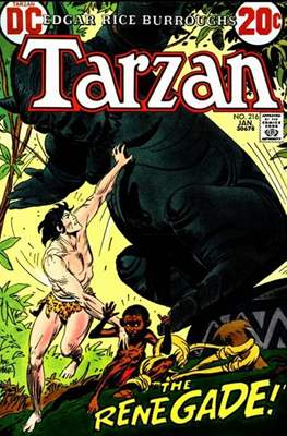 Tarzan (Comic-book) #216