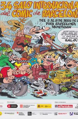 Saló Internacional del Còmic de Barcelona / El tebeo del Saló / Guía del Saló (Grapa) #34.1
