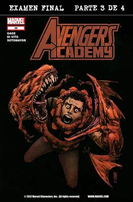 Avengers Academy (2010-2013) (Comic-Book) #36