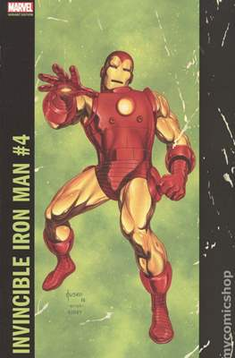 Invincible Iron Man (Vol. 3 2017-2018 Variant Cover) #4