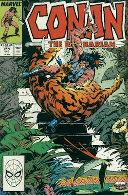 Conan The Barbarian (1970-1993) (Comic Book 32 pp) #213