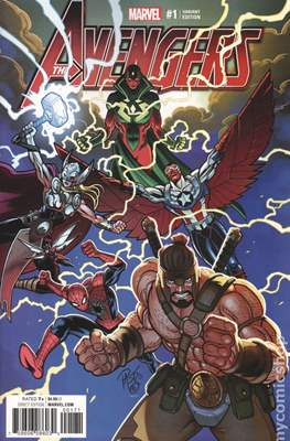 The Avengers Vol. 7 (2016-...Variant Covers ) (Grapa) #1.2