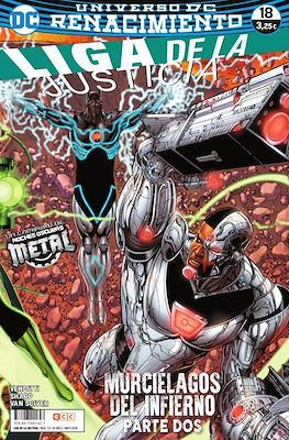 Liga de la Justicia. Nuevo Universo DC / Renacimiento (Grapa) #73/18