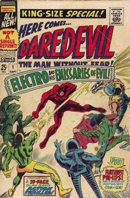 Daredevil Vol 1 Annual (Comic Book. 1967 - 1994) #1