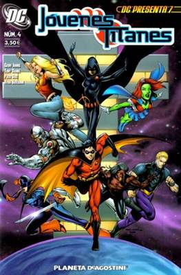 Jóvenes Titanes (2007-2009) (Grapa, 48 páginas) #4