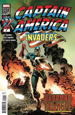 Captain America and The Invaders - Bahamas Triangle