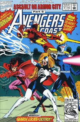 Avengers West Coast Annual (1986-1993) (Comic-Book) #7