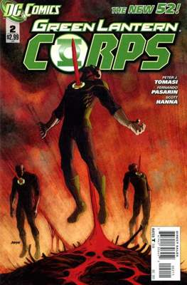 Green Lantern Corps Vol. 3 (2011-2015) #2