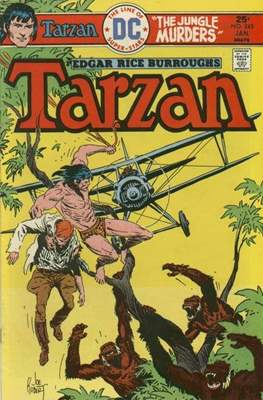 Tarzan (Comic-book) #245
