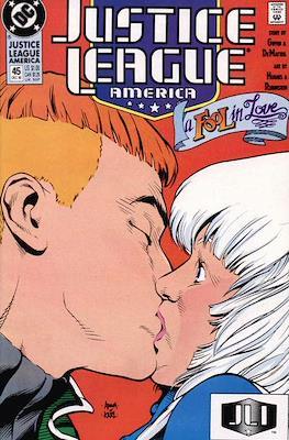 Justice League / Justice League International / Justice League America (1987-1996) (Comic-Book) #45