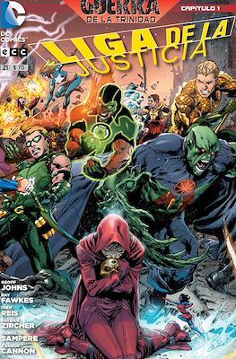 Liga de la Justicia (Grapa) #21