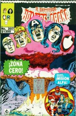 El Asombroso Hombre Araña presenta (Grapa) #207
