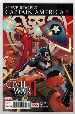 Captain America: Steve Rogers (Comic-book) #5