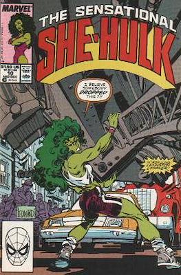 Sensational She-Hulk (1989-1994) (Grapa) #10