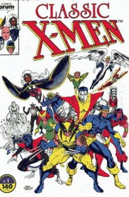 Classic X-Men Vol. 1 (1988-1992) (Grapa 32 pp) #1
