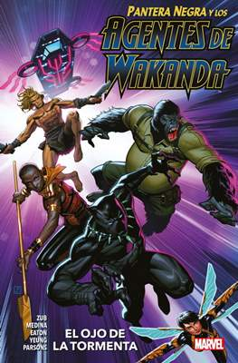 Pantera Negra y los Agentes de Wakanda (Rústica 136 pp) #1